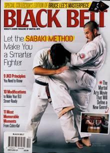 Black Belt Usa Magazine DEC-JAN Order Online