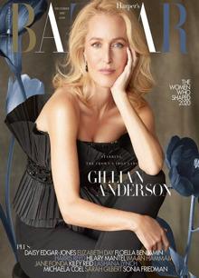 Harpers Bazaar Dec 20 Gillian Anderson Magazine DEC - GA Order Online