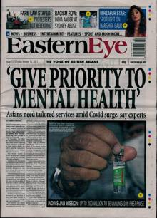 Eastern Eye Magazine 15/01/2021 Order Online
