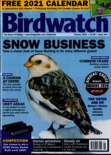 Birdwatch Magazine Issue JAN 21
