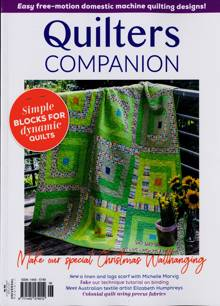Quilters Companion Magazine Issue 06