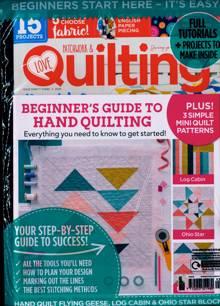 Love Patchwork Quilting Magazine NO 93 Order Online