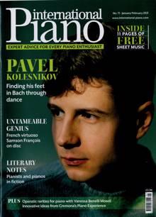 International Piano Magazine JAN-FEB Order Online