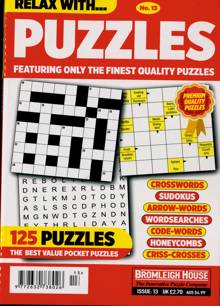 Relax With Puzzles Magazine NO 13 Order Online