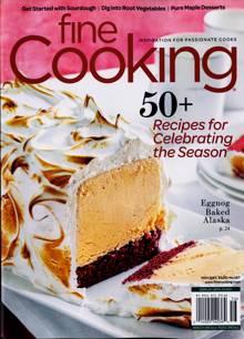 Fine Cooking Magazine Issue NOV/DEC20