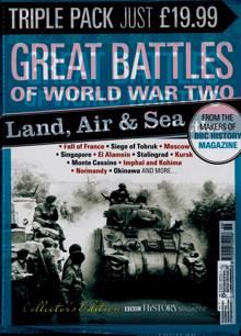 Bbc History Collectors Edits Magazine TRIPLE PAC Order Online