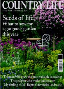 Country Life Magazine 20/01/2021 Order Online