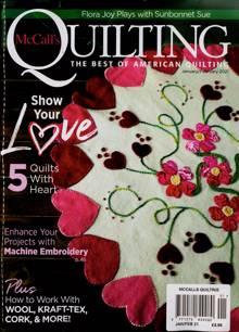 Mccalls Quilting Magazine JAN-FEB Order Online