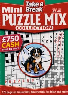Tab Mini Puzzle Mix Coll Magazine Issue NO 124