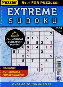 Extreme Sudoku Magazine NO 79 Order Online