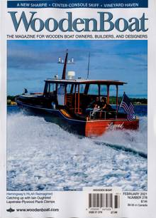 Wooden Boat Magazine Issue FEB 21