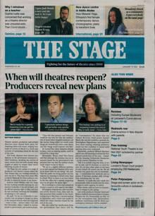 Stage Magazine 14/01/2021 Order Online