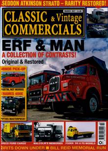 Classic & Vintage Commercial Magazine MAR 21 Order Online