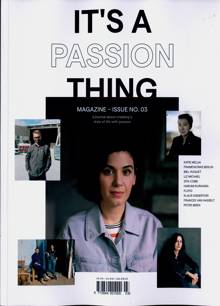 Its A Passion Thing Magazine 03 Order Online