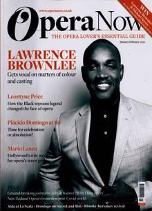 Opera Now Magazine 01 Order Online