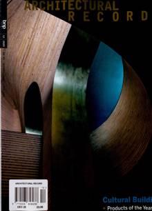 Architectural Record Magazine Issue DEC 20