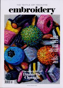 Embroidery Magazine Issue 01