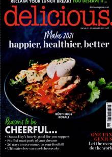 Delicious Magazine JAN 21 Order Online