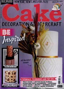 Cake Decoration Sugarcraft Magazine Issue JAN 21