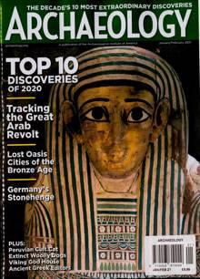 Archaeology Magazine JAN-FEB Order Online