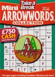 Tab Mini Arrowwords Coll  Magazine Issue NO 112
