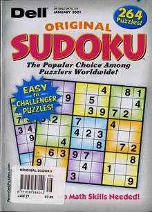 Original Sudoku Magazine JAN 21 Order Online