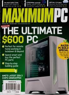 Maximum Pc Magazine HOL 21 Order Online
