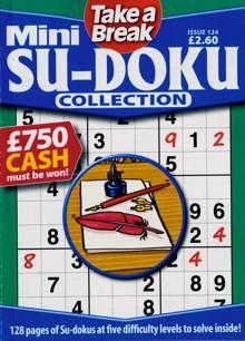 Tab Mini Sudoku Collection Magazine Issue NO 124