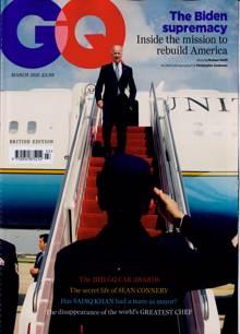 Gq Magazine MAR 21 Order Online