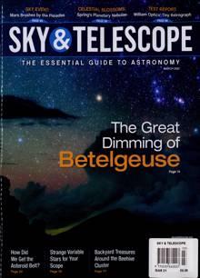 Sky And Telescope Magazine MAR 21 Order Online