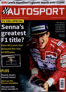 Autosport Magazine 14/01/2021 Order Online