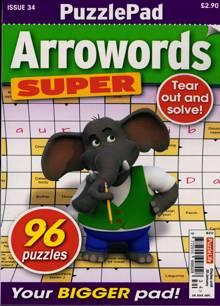 Puzzlelife Arroword Super Magazine 34 Order Online