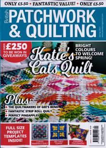 British Patchwork & Quilting Magazine SPRING Order Online
