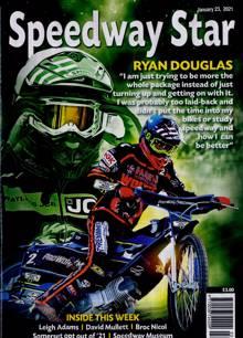 Speedway Star Magazine 23/01/2021 Order Online