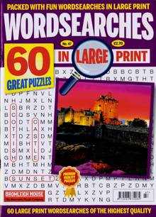 Wordsearches In Large Print Magazine Issue 47