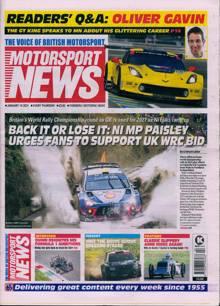 Motorsport News Magazine 14/01/2021 Order Online