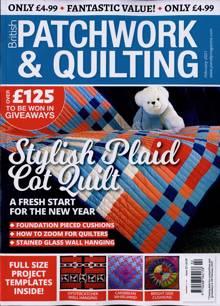 British Patchwork & Quilting Magazine FEB 21 Order Online