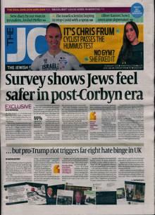 Jewish Chronicle Magazine 15/01/2021 Order Online