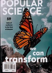 Popular Science Magazine Issue WINTER