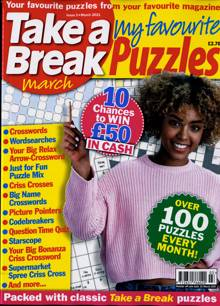 Tab My Favourite Puzzles Magazine MAR 21 Order Online