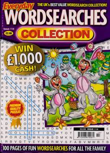 Everyday Wordsearches Coll Magazine Issue NO 114