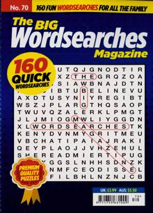 Big Wordsearch Magazine NO 70 Order Online