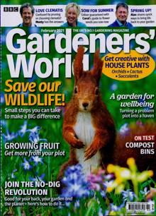 Bbc Gardeners World Magazine FEB 21 Order Online