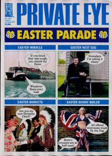 Private Eye  Magazine Issue NO 1544
