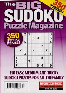 Big Sudoku Puzzle Magazine 10 Order Online
