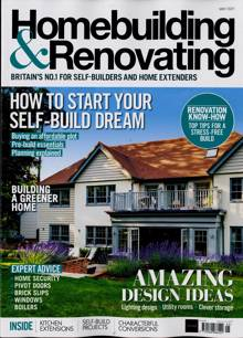Homebuilding & Renovating Magazine Issue MAY 21