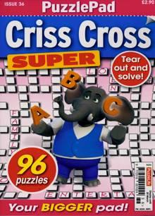 Puzzlelife Criss Cross Super Magazine NO 36 Order Online