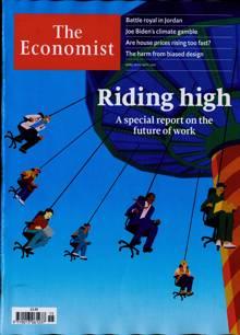 Economist Magazine 10/04/2021 Order Online