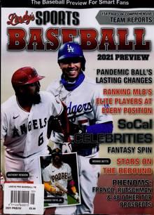Lindys Pro Baseball Preview Magazine PREV 21 Order Online