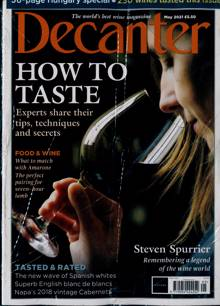 Decanter Magazine MAY 21 Order Online